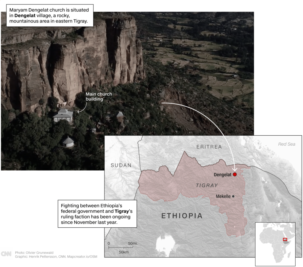 Report CNN Massacro in Montagna Tigray Etiopia