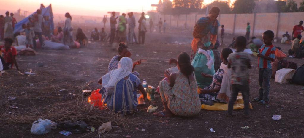Rifugiati tigray in Sudan - Etiopia