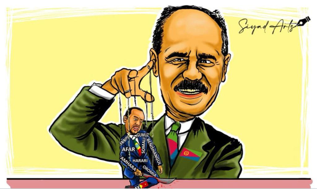 Etiopia nelle mani di Eritrea - Abiy burattino nelle mani di Isaias