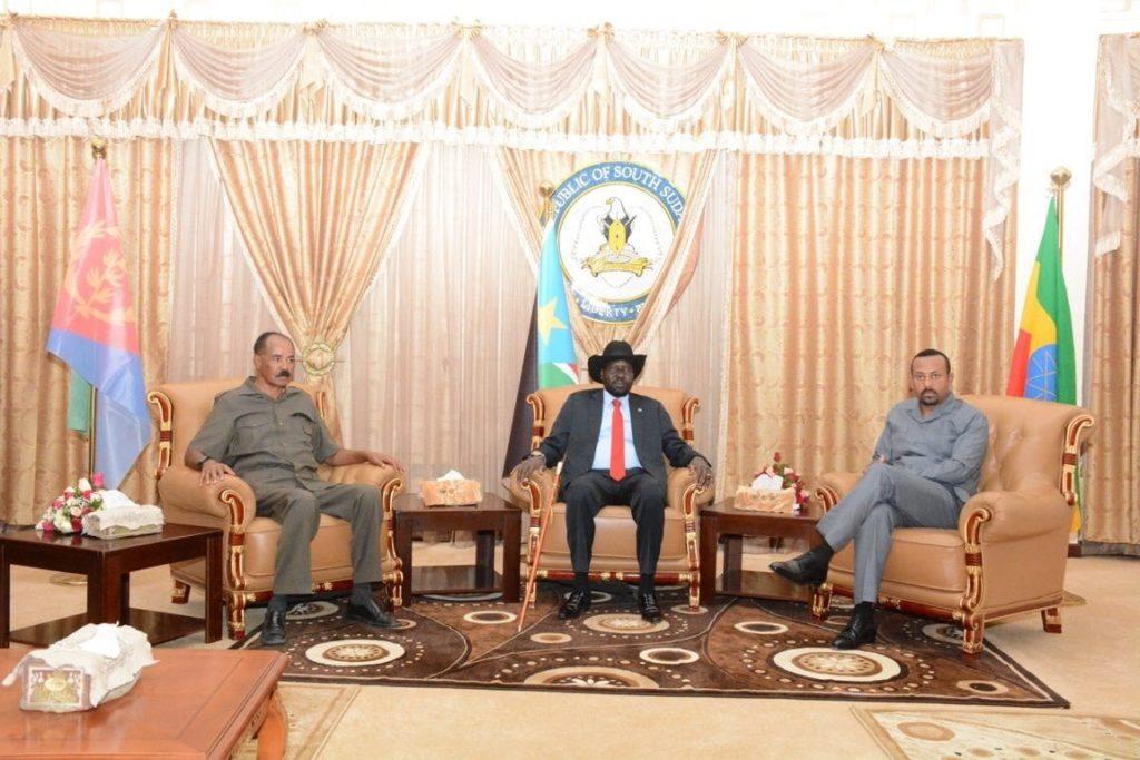 Tigray : i Leader Abiy e Isaias Si Riuniscono in Sudan e Sud Sudan