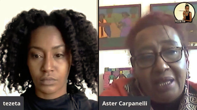 Tigray Etiopia - Aster Carpanelli e Tezeta Abraham