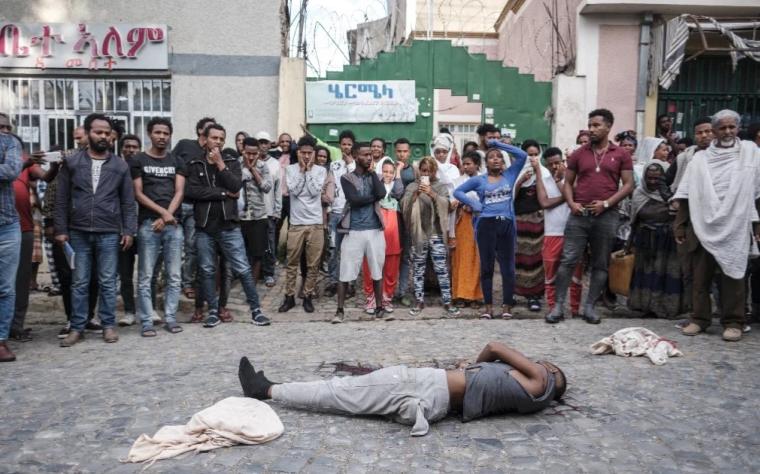 L'ufficio dell'Alto Commissario delle Nazioni Unite per i diritti umani si lamenta di ciò che ha affermato essere continui abusi tra cui violenza sessuale e esecuzioni extragiudiziali nel Tigray [File: Eduardo Soteras / AFP]