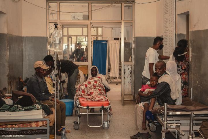 Shire Tigray Medici Senza Frontiere Etiopia