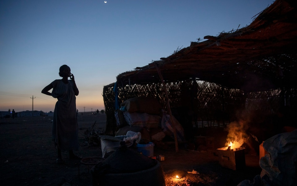 Secondo quanto riferito, la violenza sessuale sta peggiorando nel conflitto tra le forze e le truppe etiopi ed eritree fedeli all'ex governo regionale del Tigray CREDITO : Nariman El-Mofty / AP