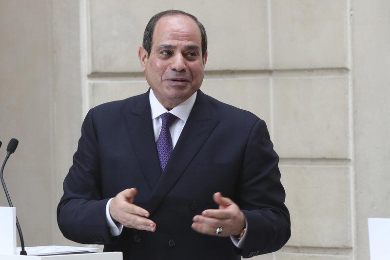 Egypt's president el-Sissi