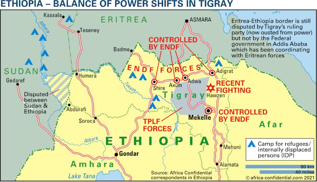 Eritrea Etiopia - accocrdo per nuova federazione