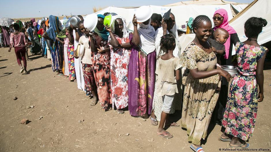 Tigray - I profughi del Tigray si sono riversati nel vicino Sudan