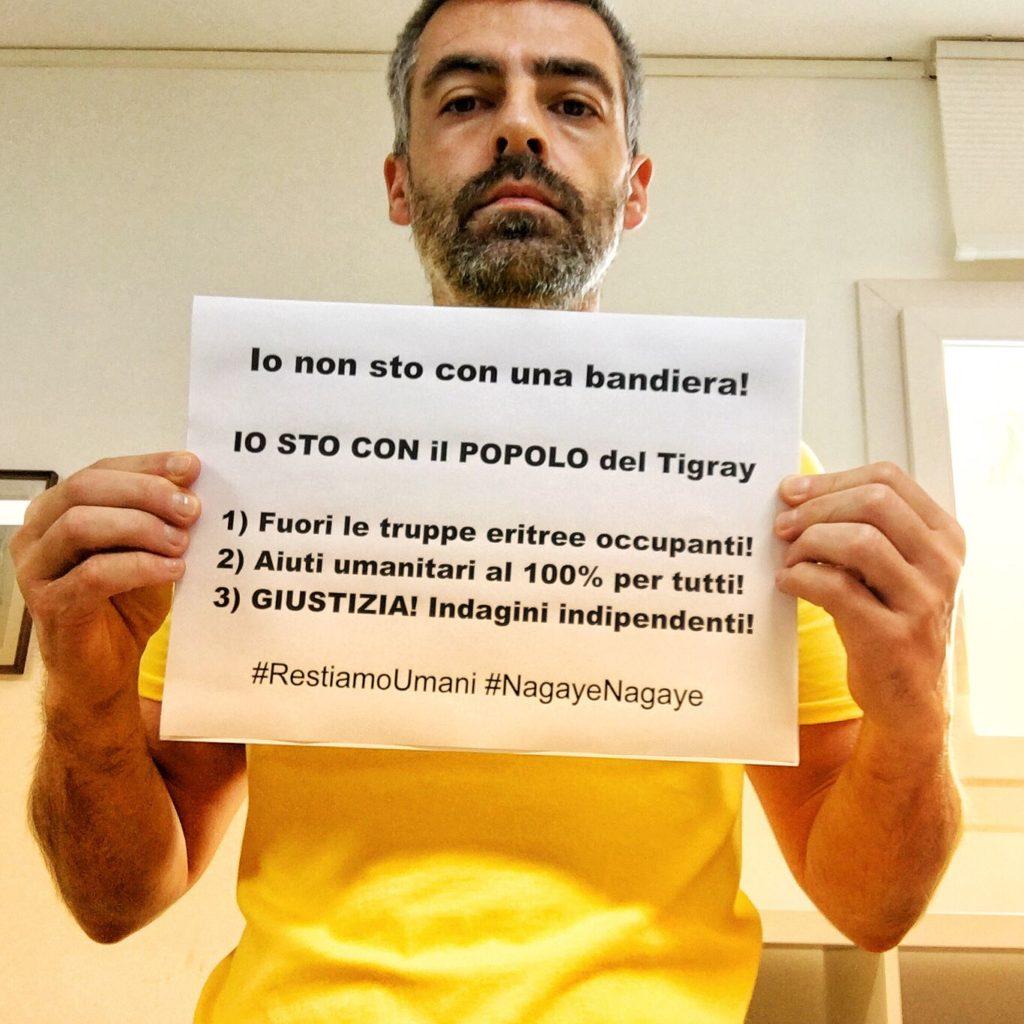 Davide Tommasin - Io sto con il Popolo del Tigray