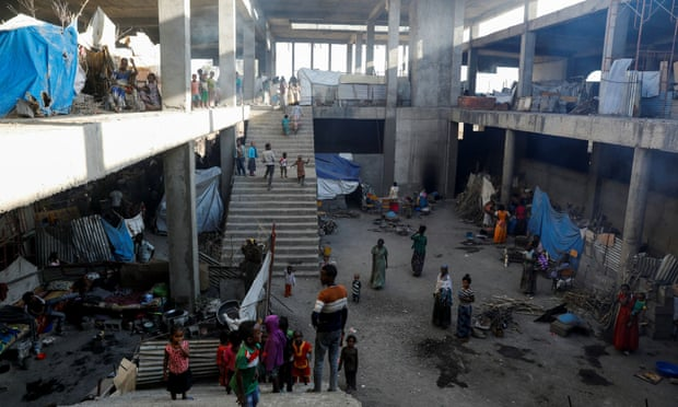 Sfollati in Tigray - abbandonati a se stessi
