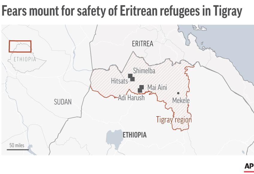 Rifugiati Eritrei Sotto Attacco Nella Guerra Del Tigray - Etiopia