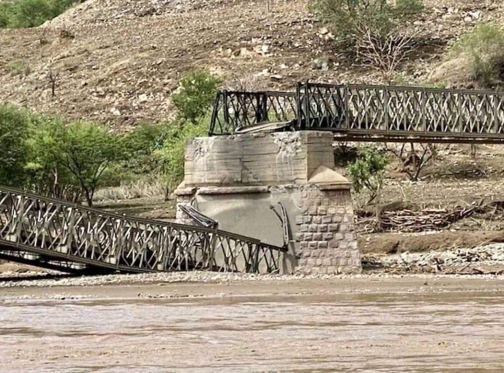 Tezeke Bridge Tigray - distrutto