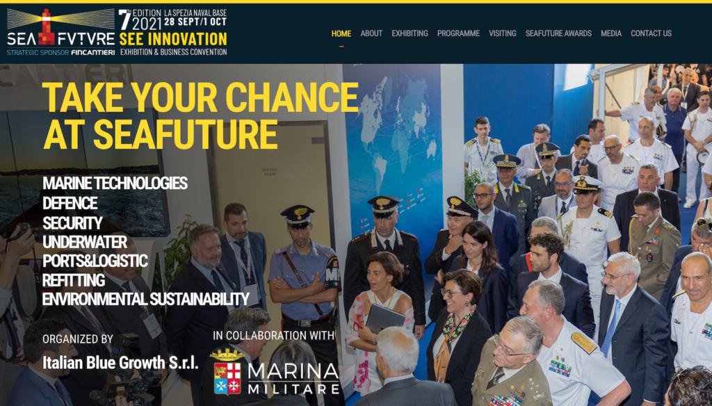 Sea Future 2021 - La Spezia - Economia delle Armi in Italia