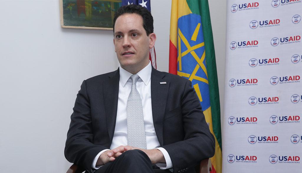 Sean Jones ha assunto la guida di USAID Etiopia nel luglio del 2019