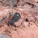 Fig. 1. Tails of RBK-250 cluster bombs, as recovered nearby Samre – Photos availed by Christiaan Triebert (NYT) (https://twitter.com/trbrtc/status/1365517252360097797).